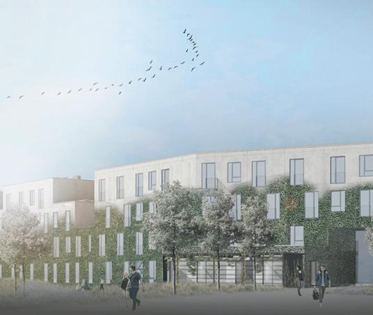 Campus Køge sparer tid, penge og CO2 med specialløsning fra Dansk Mobil Beton A/S