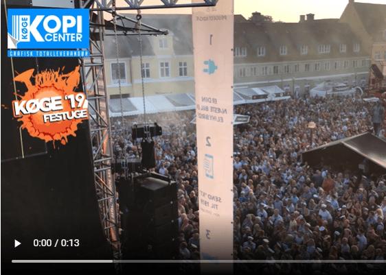 7-dages GRATIS fest i Køge - hvert år!