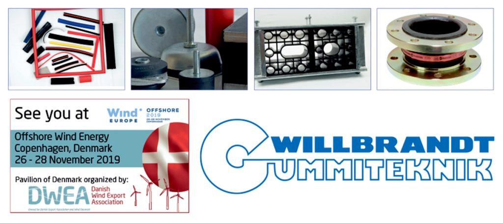 Pressemeddelelse: WILLBRANDT klar til WindEurope Offshore 2019